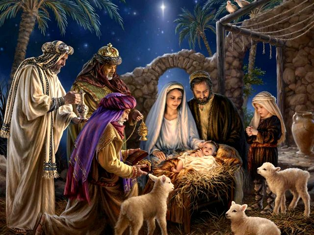Image result for nativity scene according to Matthew