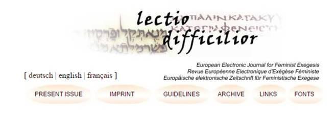 Lectio Difficilior banner