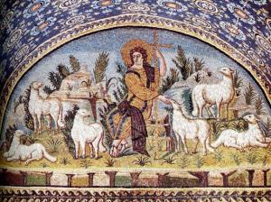 Shepherd mosaic