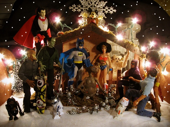 Action figure nativity (2012)