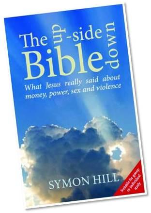 Upside down bible slanted