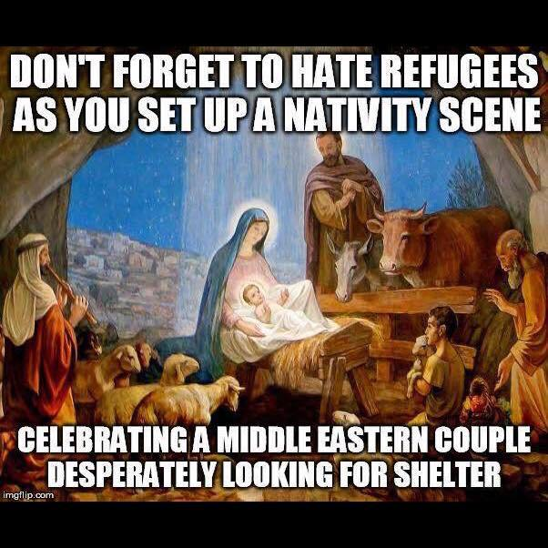 No Room For The 3 Kings Refugees The Nativity And The Social