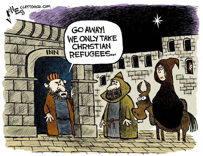 Clay Jones: https://claytoonz.com/2015/11/17/rejected-refugees/